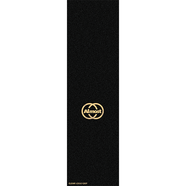CLEAR LOGO BLK//CLEAR ALMOST GRIP SINGLE SHEET