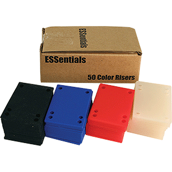 """ESSENTIALS (50/PK)SHOCK PAD-ASSORTED 1/8"""" ppp"""