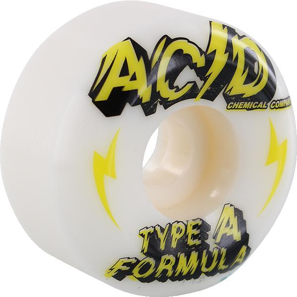 ACID TYPE A SIDECUT POWER 53mm 99a WHITE