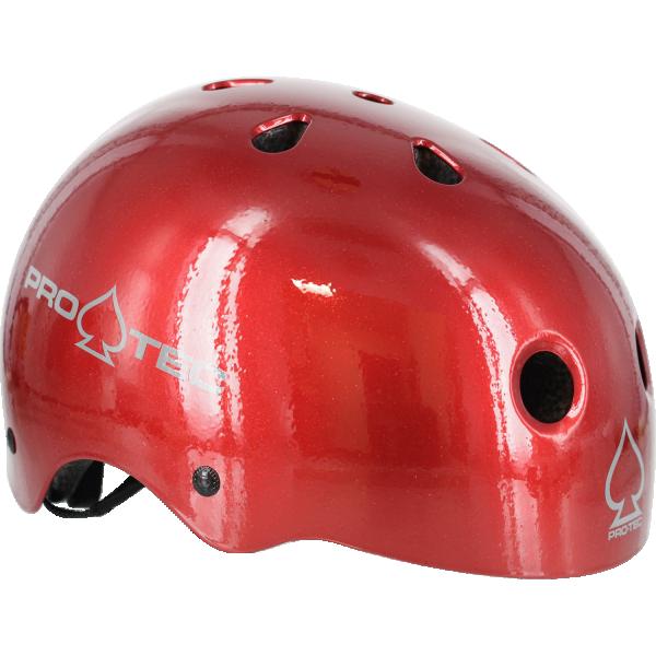 PROTEC (CPSC)CLASSIC RED FLAKE-XL HELMET