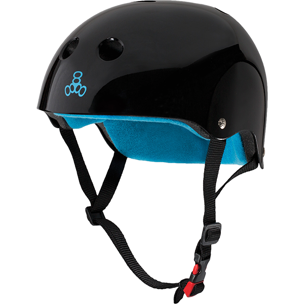 T8 CERTIFIED SWEATSAVER XS/S-BLACK GLOSS/BLUE