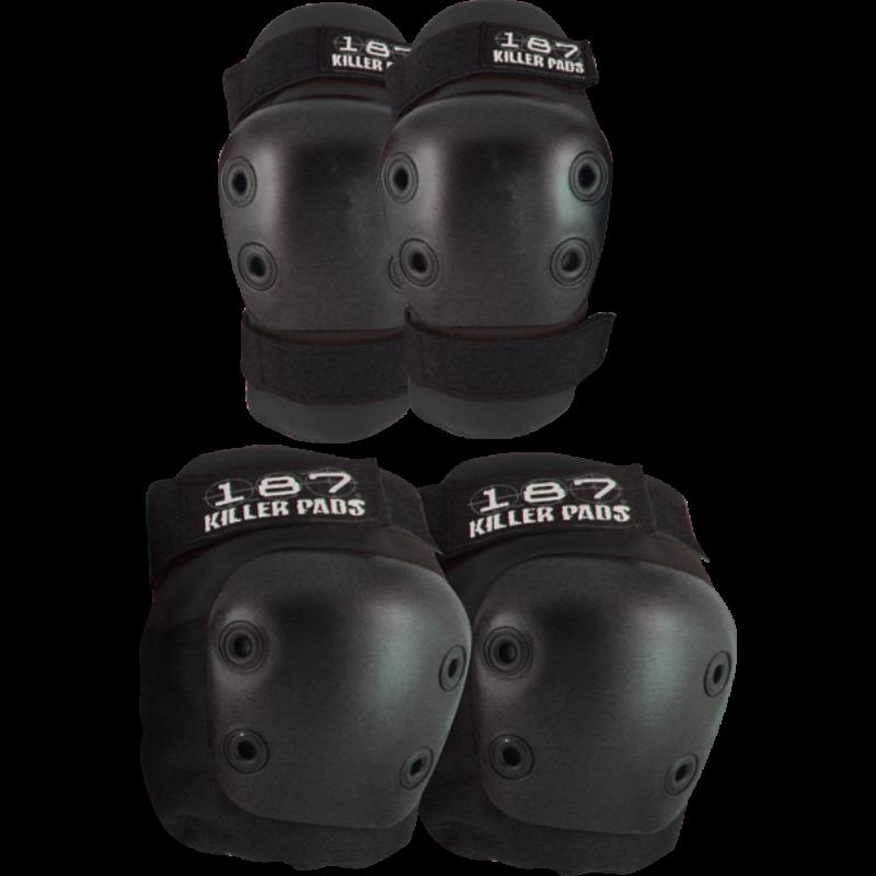 homeblock-image-black-skateboard-knee-and-elbow-pads-set-3B1871COMB1SMKK-800x800